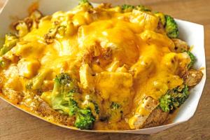 Broccoli Chicken Cheese Potato - delivery menu