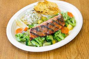Salmon Wild Caught - delivery menu