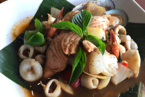 Mixed Seafood Butter Curry Sauce - delivery menu