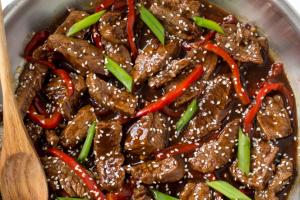 Sesame Beef Teriyaki - delivery menu