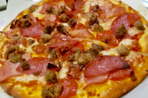 Meat Lovers Pizza - delivery menu