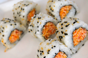 Spicy Kani Crunch Roll - delivery menu