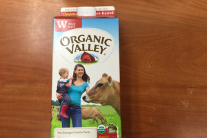 Organic Valley Whole Milk Half Gallon - delivery menu