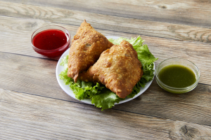 2 Vegetable Samosa - delivery menu