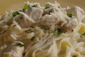 Chicken Fettucinne Alfredo - delivery menu