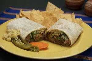 3. All Meat Burrito - delivery menu