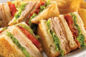 Turkey Club Triple Decker - delivery menu