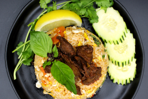 NF6. Spicy Basil Fried Rice - delivery menu