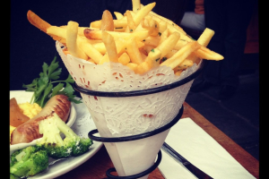 Garlic French Fries - delivery menu