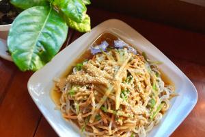 Cold Sesame Noodles with Peanut Sauce - delivery menu
