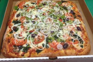 Vegetarian Pizza - delivery menu