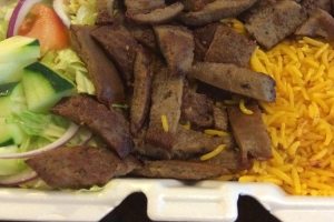 Lamb Rice Shawarma - delivery menu