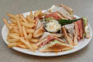 Roast Turkey Club Sandwich - delivery menu