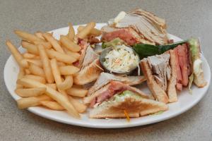 Roast Turkey Club Sandwich - delivery menu