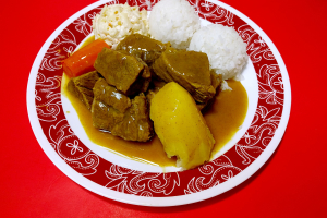 57. Beef Curry Plate - delivery menu