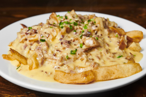 Straight Up Cheesy Fries - delivery menu