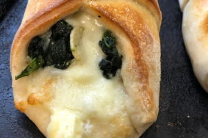 Spinach, Feta, Mozzarella Roll - delivery menu