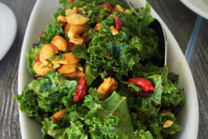 Kale and Cashew Salad - delivery menu