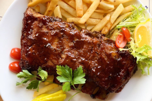 Pork BBQ  Ribs Rack - delivery menu