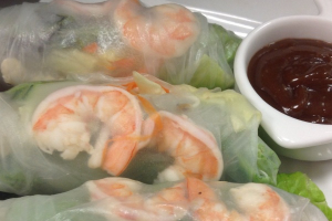 Fresh Spring Rolls - delivery menu