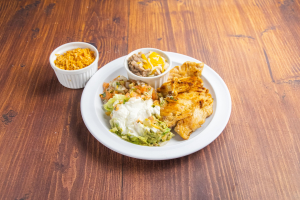 Chicken Steak Plate - delivery menu