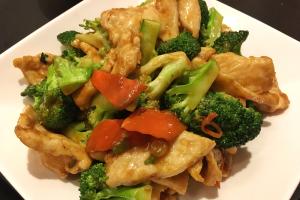 Chicken with Broccoli - delivery menu