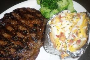 Hamburger Steak Plate Dinner - delivery menu