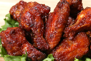 Malaysian BBQ Chicken Wings - delivery menu