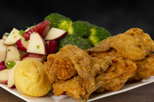4 Pieces White Crispy Chicken Combo - delivery menu