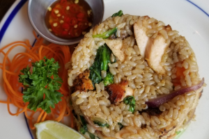 Salmon Fried Rice - delivery menu