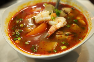 33. Tom Yum Koong Soup - delivery menu