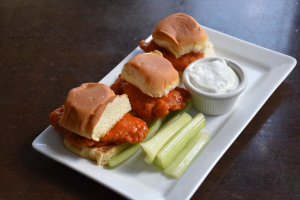 Buffalo Chicken Sliders - delivery menu
