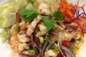 Disco Shrimp Salad - delivery menu