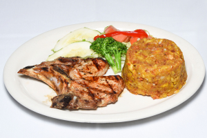 Broiled Pork Chops - delivery menu