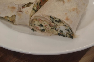 Grecian Wrap - delivery menu