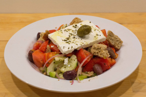 The Real Traditional Greek Salad - delivery menu