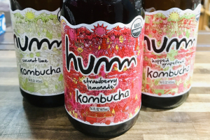 humm kombucha  - delivery menu