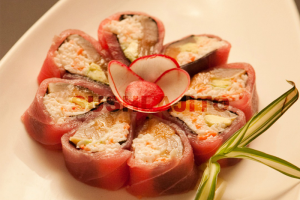 Red Blossom Roll - delivery menu