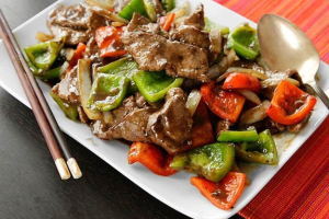 89. Pepper Steak with Onion - delivery menu