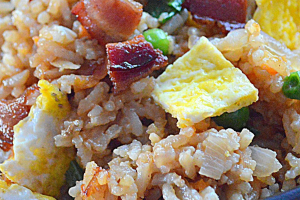 Bacon Fried Rice - delivery menu