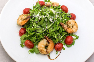 Arugula Salad with Shrimp - delivery menu