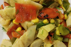 Artichoke Heart Salad - delivery menu