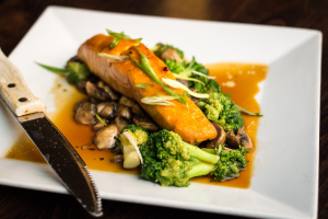 Teriyaki Salmon - delivery menu