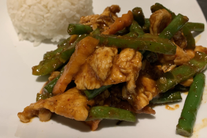 L19. Pad Prik Khing Lunch Special - delivery menu