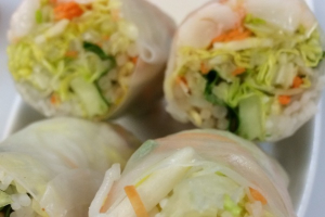 Fresh Rolls Lunch - delivery menu