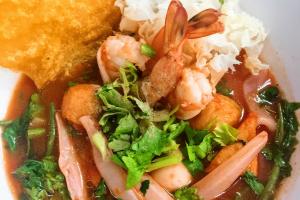 Yen Ta Fo Noodle Soup - delivery menu