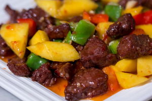Mango Beef Tenderloin - delivery menu