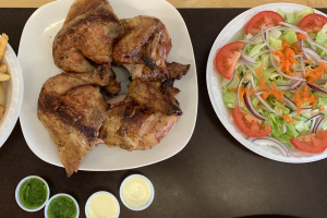 1 Whole Chicken 2 Large Sides - delivery menu