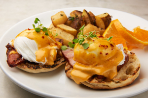 Eggs Benedict - delivery menu
