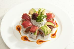 Cajun Tuna Roll - delivery menu